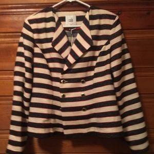 Cabi striped cruise jacket